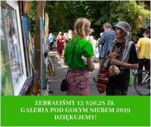 """""""Galeria pod gołym niebem"""" - piękna inicjatywa w Krakowie"""
