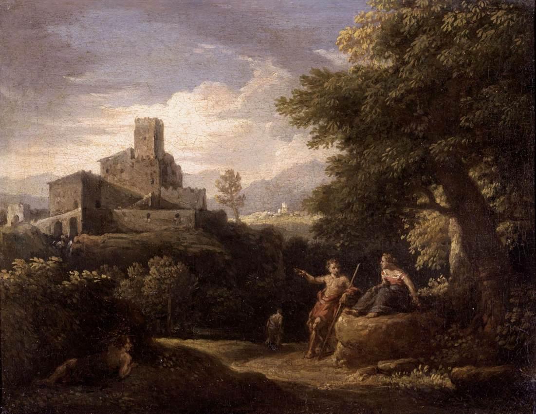 Krajobraz Arkadii Jana Fransa van Bloemena