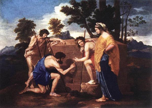 Et in Arcadia ego Nicolasa Poussina